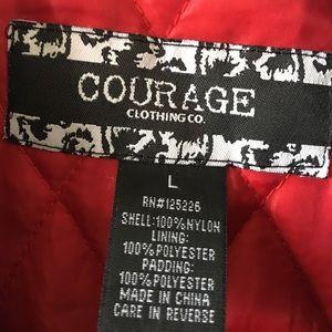 1903b237124a8 Courage Clothing Jackets & Coats - Courage Clothing Mens Jacket size Large